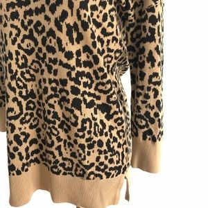 Banana Republic leopard cheetah sweater